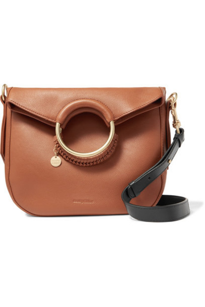 See By Chloé See By Chloé - Monroe Medium Textured-leather Tote - Tan