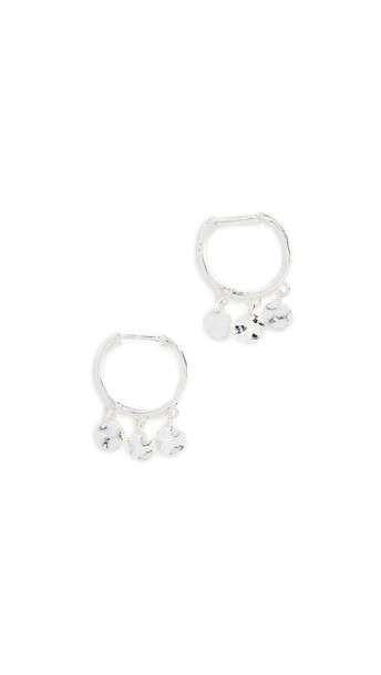 Gorjana Chloe Mini Huggie Earrings in silver