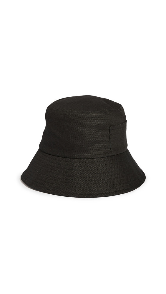 Lack Of Color Wave Bucket Hat in black
