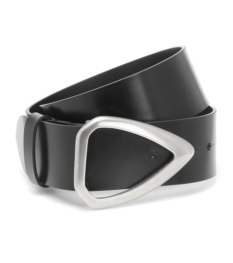 Isabel Marant Idiani leather belt in black