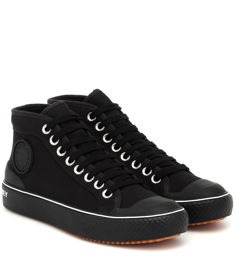 Stella McCartney Canvas sneakers in black
