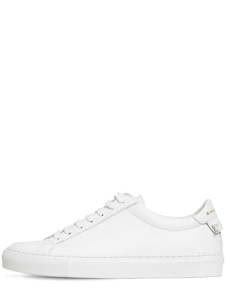 GIVENCHY 20mm Urban Street Leather Sneakers in white