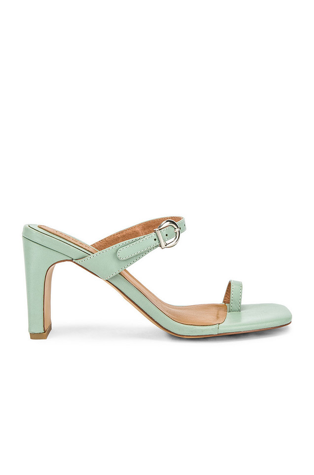 JAGGAR Contemporary Leather Heel in mint