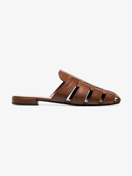 Church's Becky cutout slippers in tan