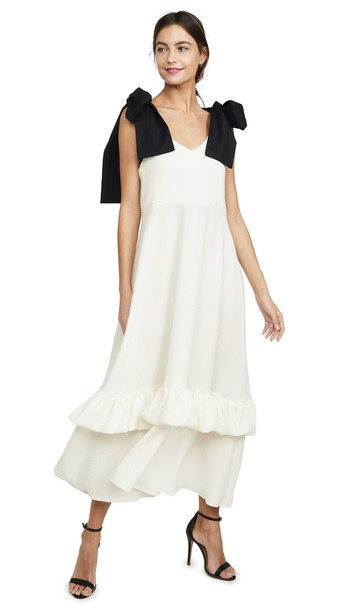 N DUO Bow-tiful Dress in white