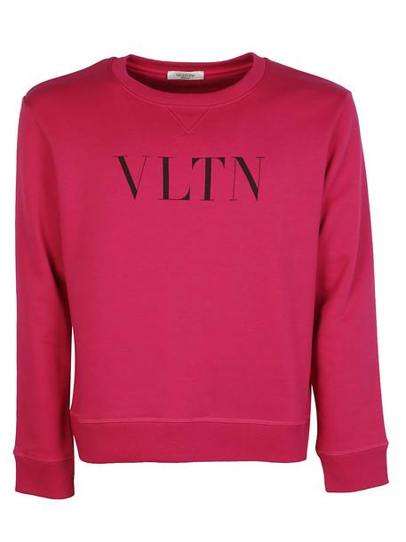 Valentino Garavani Sweatshirt in nero / pink