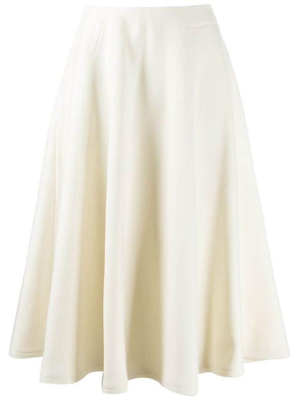 Courrèges full shape skirt in white
