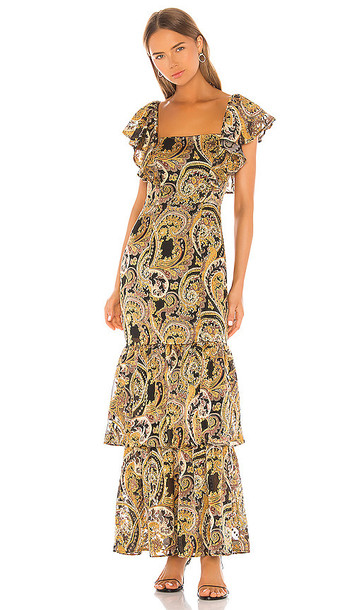 House of Harlow 1960 X REVOLVE Daya Maxi Dress in Black