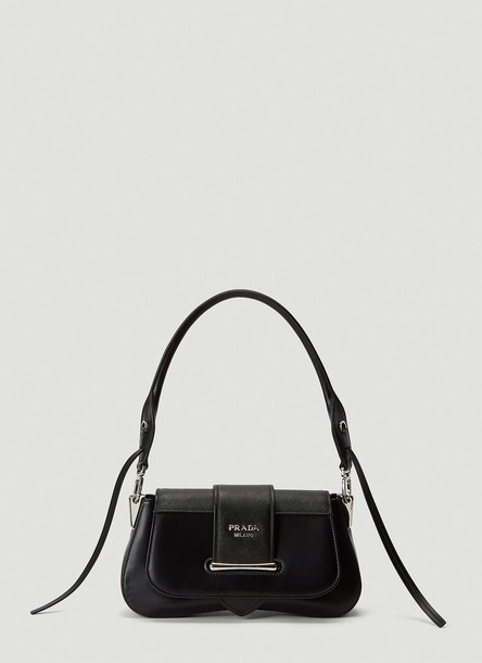Prada Sidonie Shoulder Bag in Black size One Size