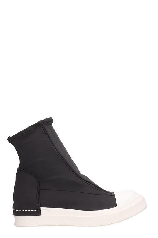 Cinzia Araia Hi Slip On Sneakers in black