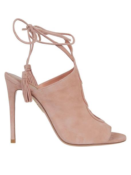 Aquazzura Mar Sandals in rose