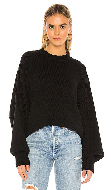 Free People Easy Street Tunic in Black
