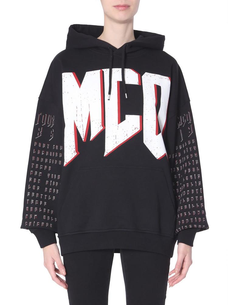McQ Alexander McQueen Hooded Sweatshirt in nero