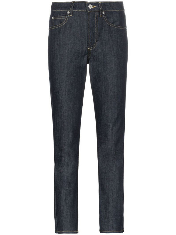 Eve Denim silver bullet straight leg jeans in blue