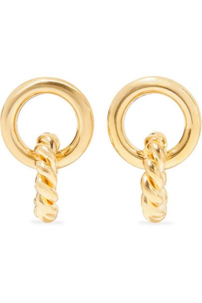 Laura Lombardi - Duo Gold-tone Earrings