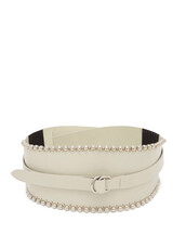 belt,leather,white