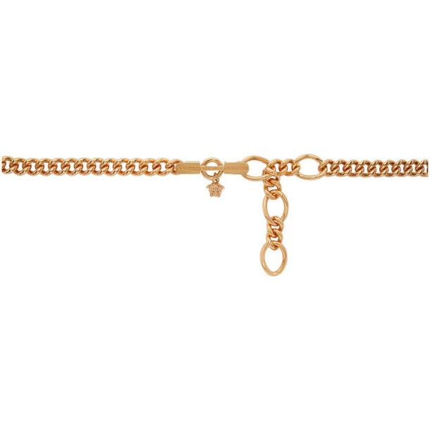 Versace Gold Medusa Chain Belt