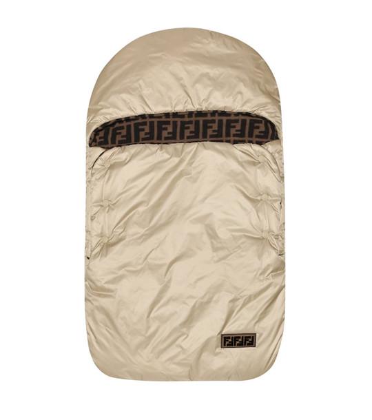 Fendi Kids Bunting bag in beige
