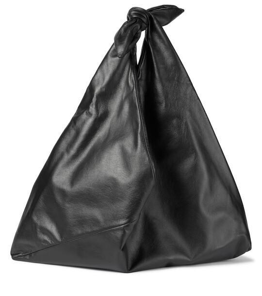 Gabriela Hearst Hildegard leather tote in black