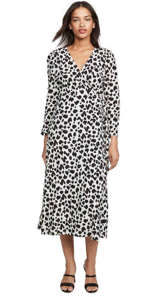 Cleobella Miles Wrap Dress in ivory