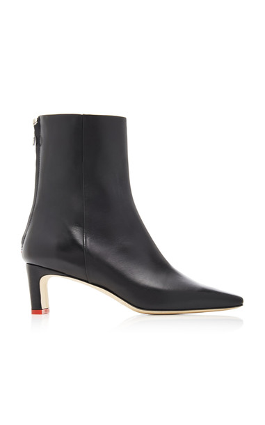 Aeyde Ivy Calf Leather Boots in black