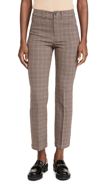 PAIGE Claudine Trousers in multi / beige