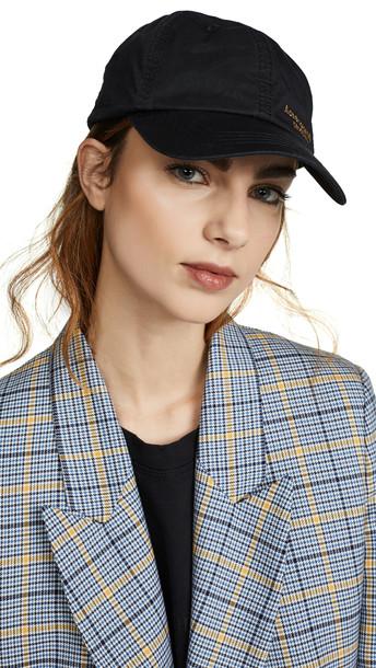 Acne Studios Carliy Dye Baseball Hat in black