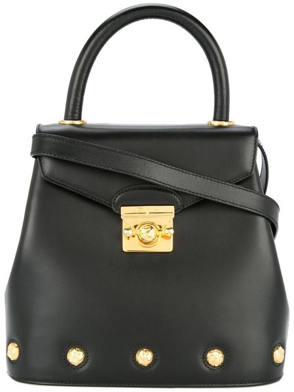 Salvatore Ferragamo Pre-Owned 2 way handbag in black