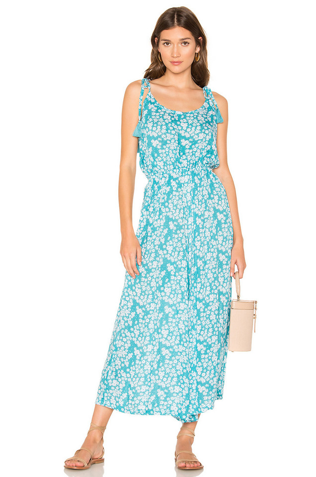 Tiare Hawaii French Jumpsuit in turquoise