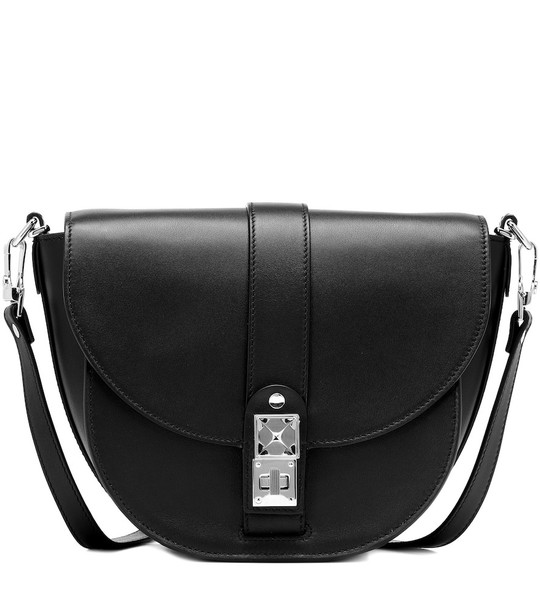 Proenza Schouler PS11 Medium leather shoulder bag in black