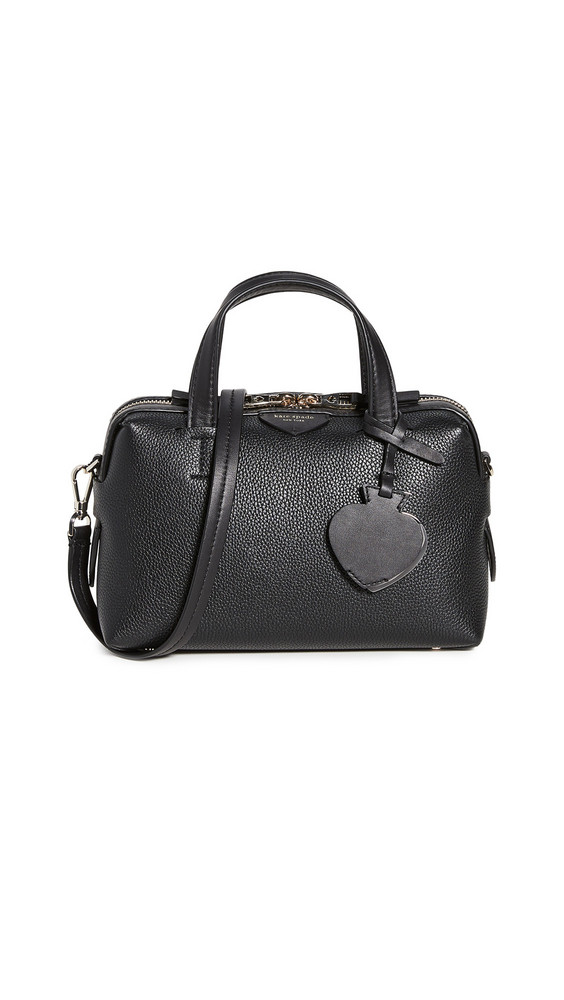 Kate Spade New York Taffie Small Satchel Bag in black