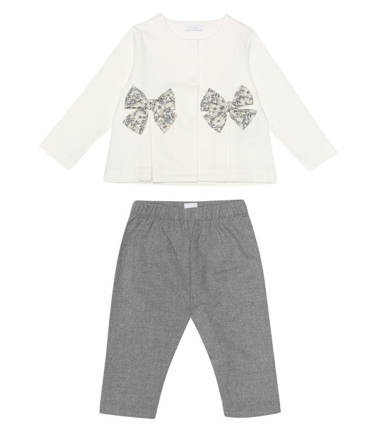 Il Gufo Baby top and pants set