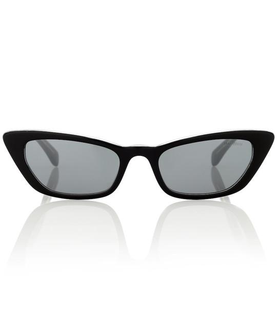 Miu Miu Cat-eye sunglasses in black