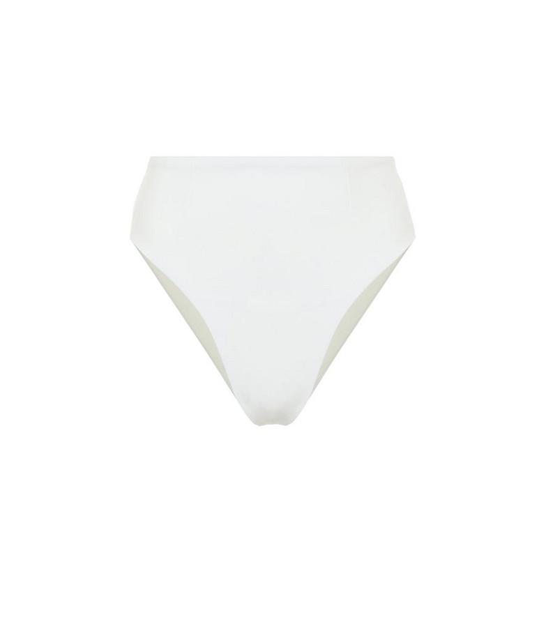 Haight Manu high-rise bikini bottoms in white