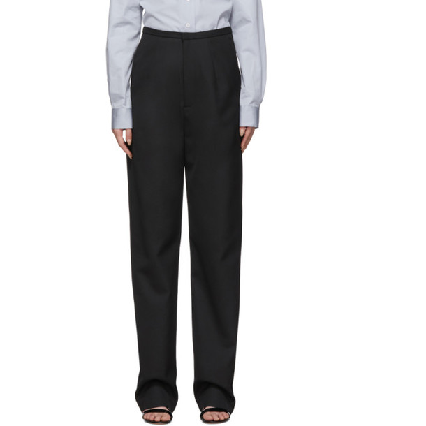 Toteme Black Arles Trousers