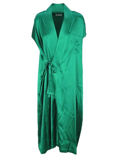 Balenciaga Judo Style Dress in green