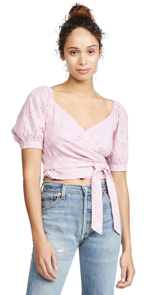 ASTR the Label Dina Top in white