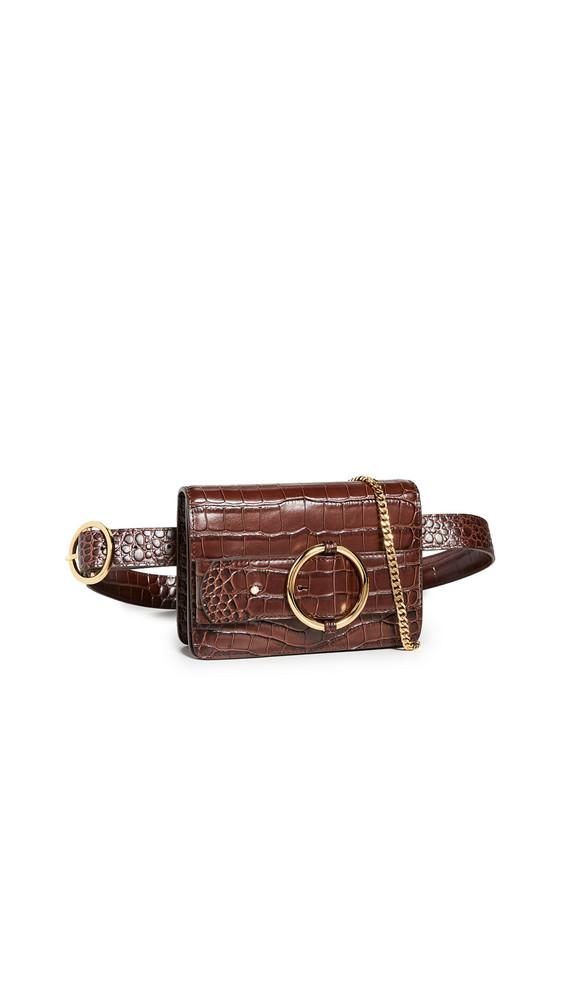Parisa Wang Allured Belt Bag in brown
