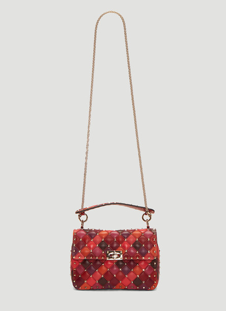 71267d4c7d Valentino Medium Rockstud Spike. it Shoulder Bag in Pink size One Size