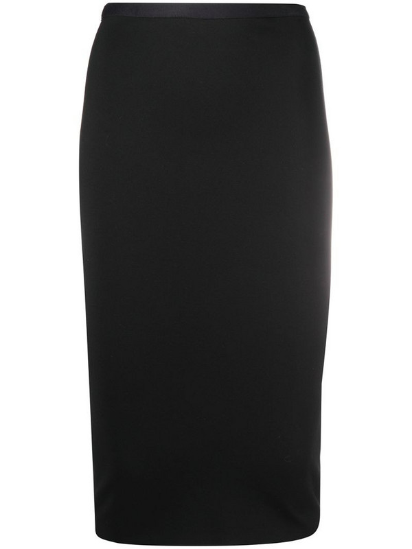Blanca Vita pencil design skirt in black