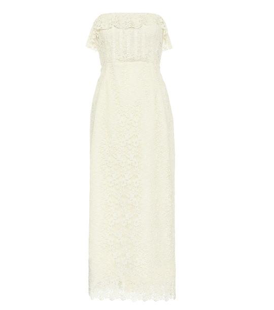 Brock Collection Quadrilogia cotton-blend lace dress in white