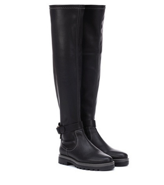 See By Chloé Dakota faux leather boots in black