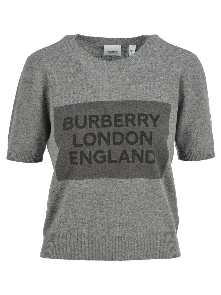 Burberry London Burberry Short Sleeves Sweater in grey