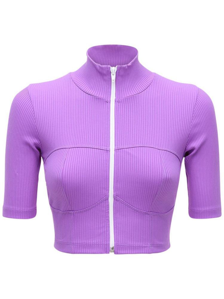 YEAR OF OURS Active Rib Off Roading Top in purple