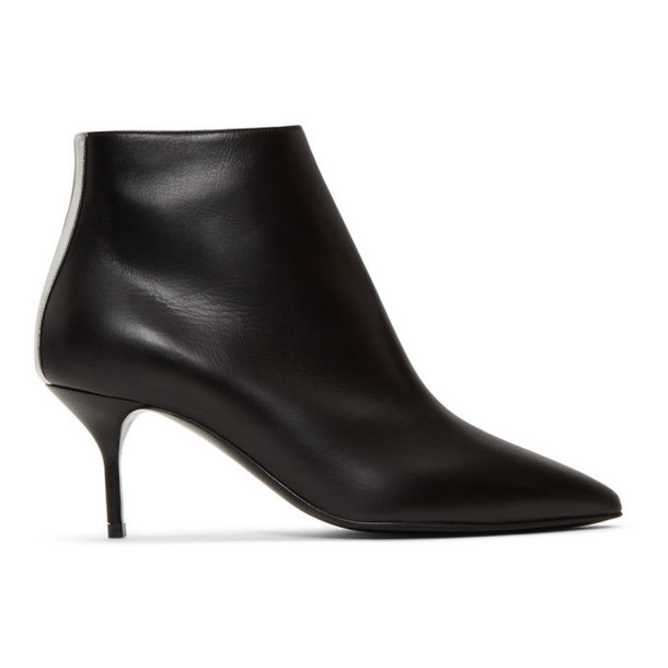 Pierre Hardy Black Leather Alpha Boots