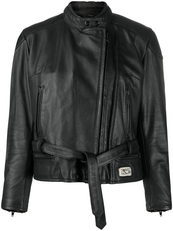 A.N.G.E.L.O. Vintage Cult 1990s belted jacket in black