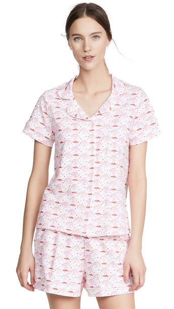 Ro's Garden Cora Short Sleeve Pajama Set in pink