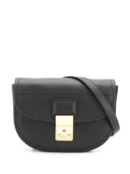 3.1 Phillip Lim Pashli Saddle mini belt bag in black