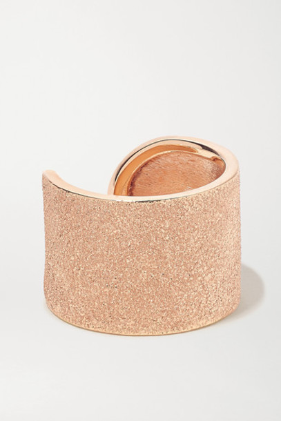 Carolina Bucci - Florentine 18-karat Rose Gold Ring