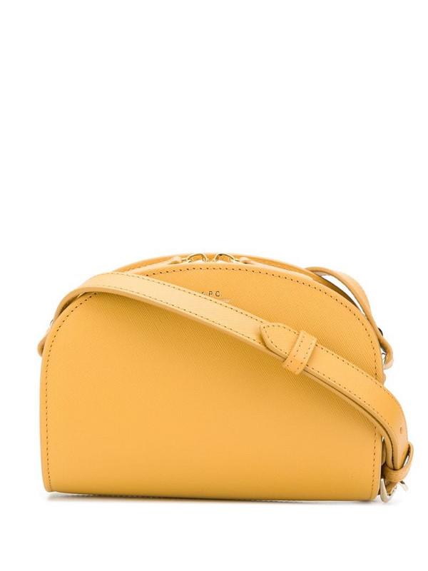 A.P.C. mini Sac Demi-Lune shoulder bag in neutrals
